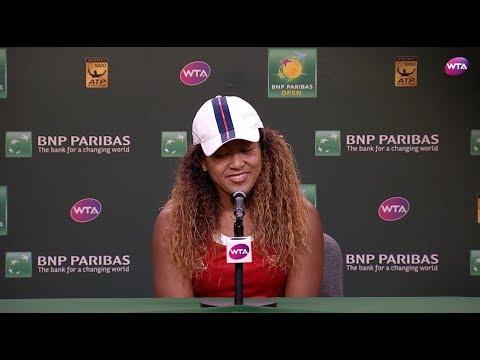 2018 Indian Wells Day 8: Naomi Osaka Press Conference