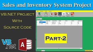 Ms Access Inventory System