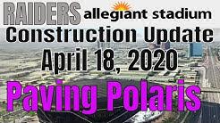 Las Vegas Raiders Allegiant Stadium Construction Update 04 18 2020