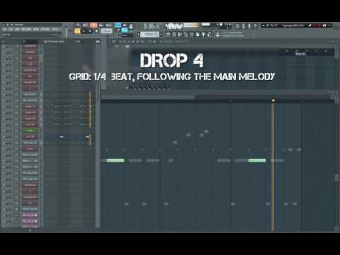 How to make Massive Big Room - Breakdown melody - Drop - part2