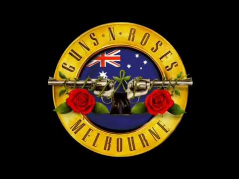 Guns N' Roses Private Jet Arriving Into Melbourne, Australia :Not In This Lifetime Tour 13/2/17