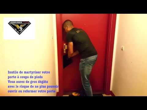 Serrurier ouvrir une porte claqu e avec une radio s for Ouvrir une porte blindee