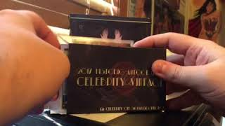 2018 Historic Autographs Celebrity Vintage Box Break