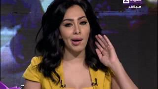 ميريهان حسين تكشف عن قدرتها على تقليد إليسا وهيفاء وأصالة