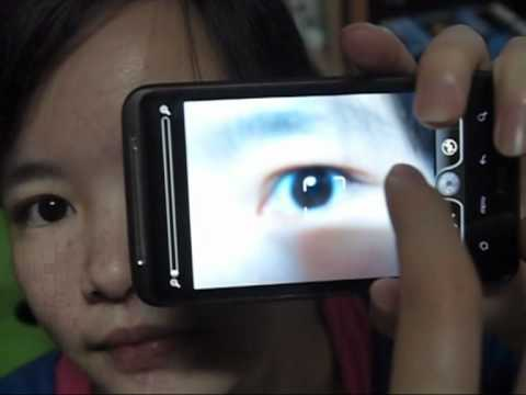 Iris Recognition using Mobile Phones