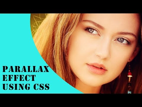 Parallax Effect Using css | Simple Parallax Scrolling Effect Tutorial