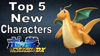 Top 5 Wanted Pokemon for  Pokken Tournament DLC | @GatorEXP