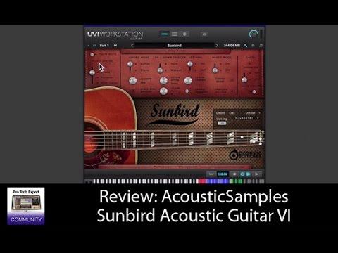 Review: AcousticSamples Sunbird Acoustic Guitar VI