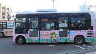 2018 山形市 循環バス ベニちゃんバス 東くるりん 東原町先回りコース 4K版