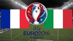 FRANKREICH gegen ITALIEN - EM 2016 FRANKREICH   VIERTELFINALE ◄FRA #05►