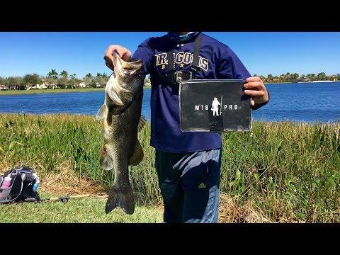 MTB BIG BASS 1v1 SLAM!!! (ft. LakeForkGuy) Florida - February 2016