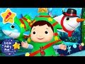 Santa Shark Christmas Special | Christmas Songs for Kids | Baby Songs | Little Baby Bum
