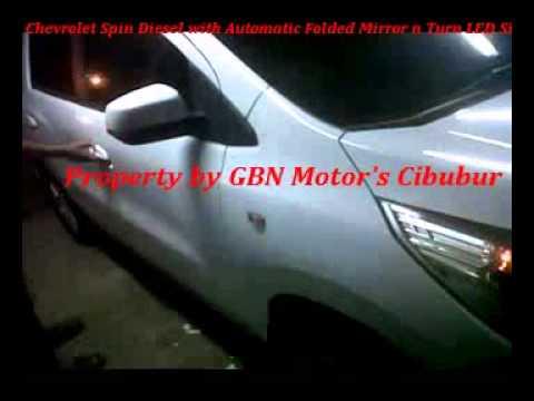 Motorized Folded Mirror Chevrolet Spin Diesel Ltz With Turn Led