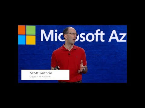 Microsoft Build 2018 - Technology Keynote: Microsoft Azure