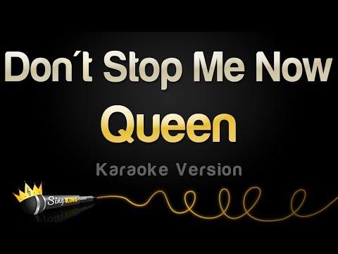 Queen - Don't Stop Me Now (Karaoke Version)