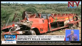 Death toll rises to 55 in Kenya's bus accident