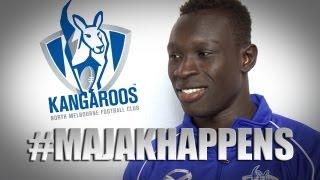 April 18, 2013 - Majak Daw interview #MajakHappens