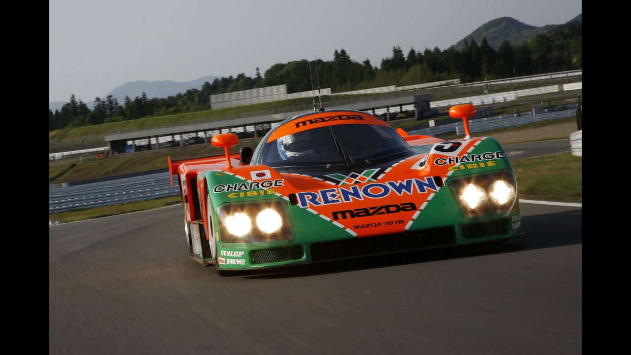 Race Car Wallpaper Images Mazda 787b Engine Amp Exhaust Sound Youtube