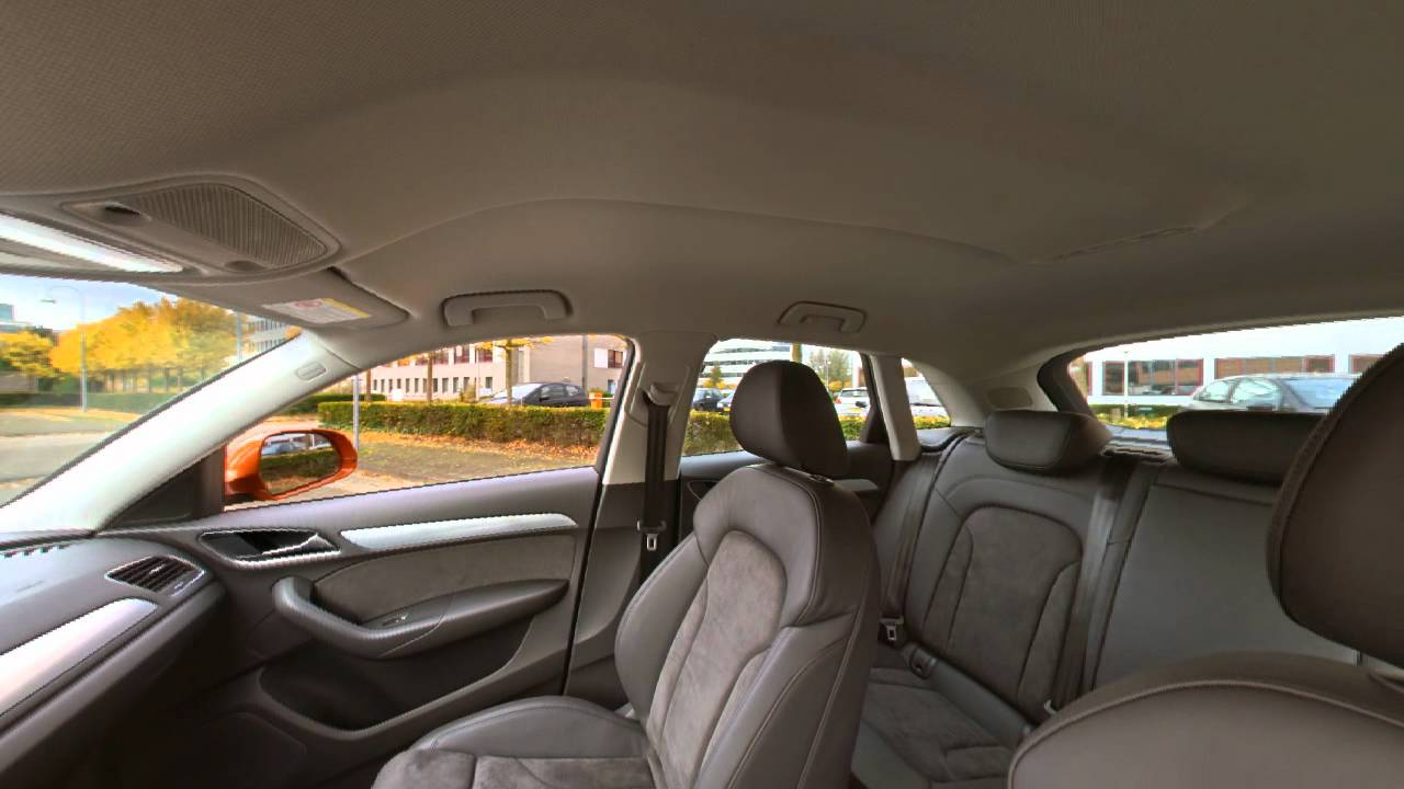 2012 audi q3 suv panorama foto van het interieur youtube for Interieur q3 s line