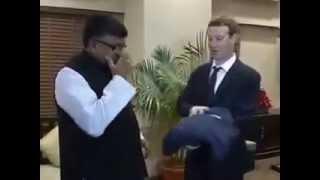 IT & communications minister Ravi Prasad meets Facebook CEO Mark Zuckerberg