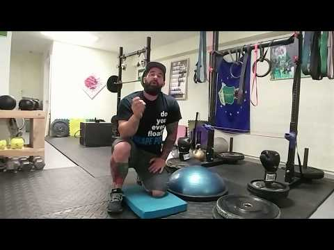 Lateral Tissue Stretch for Kettlebell Sport