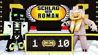 SCHLAG DEN ROMAN (TEIL 1)?! - Minecraft [Deutsch/HD]