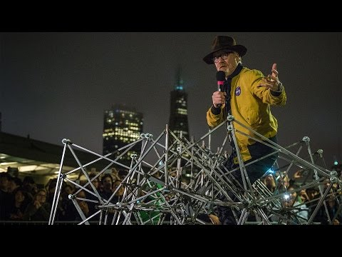 Adam Savage's One Day Builds: Pedal-Powered Strandbeest!