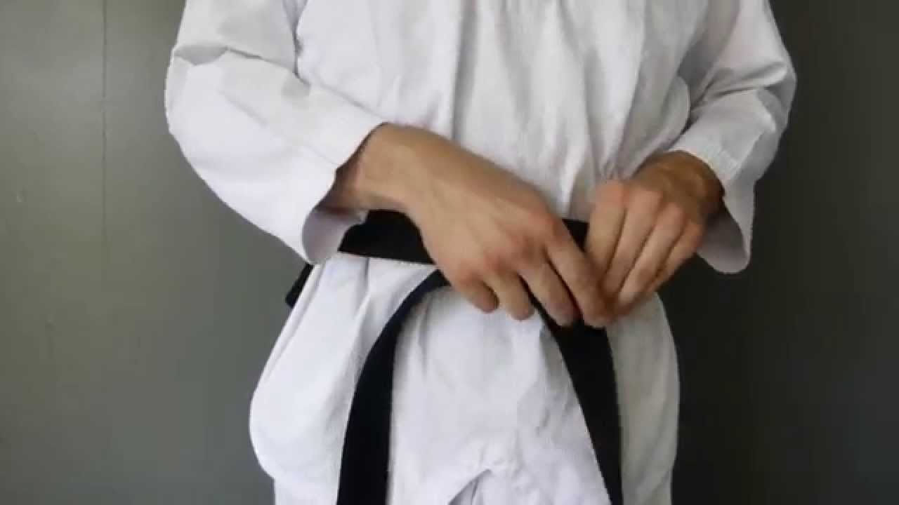 tuto  Comment bien faire sa ceinture de Taekwondo, karaté, judo, Jujitsu. 7ee9cdbbbd6