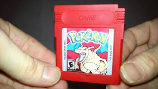 Pokemon Red Full Color Reproduction Game