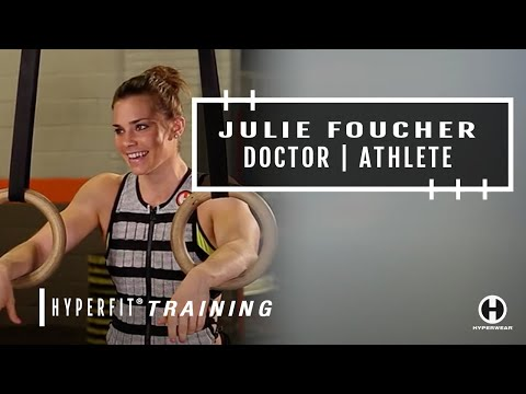 Julie Foucher on CrossFit Training, Recovery and Life