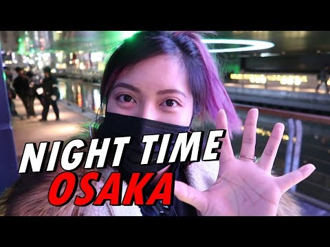 NIGHT TIME IN OSAKA + MORE SHOPPING! (Feb. 3, 2018) - saytioco