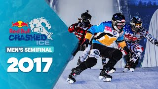 Crashed Ice Marseille: Men's Semifinal #2 | Red Bull Crashed Ice 2017