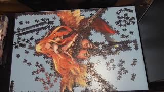 神撃のバハムートのジグソーパズルは綺麗で好きです。