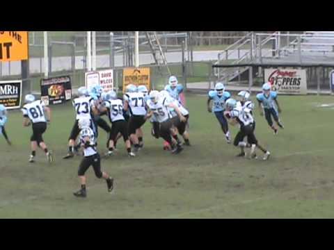 KJ's Football Highlights 2014 St Amant Middle School