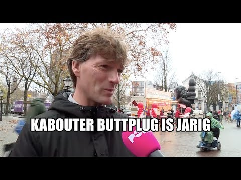Kabouter buttplug is jarig!