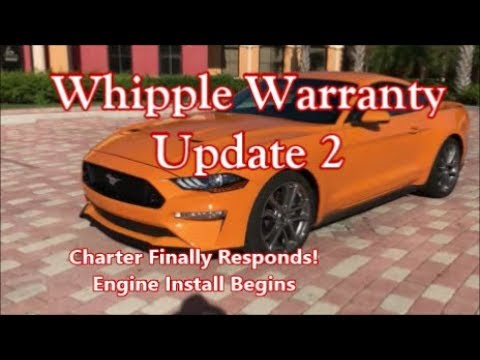2018 Mustang GT 5.0_Whipple Warranty Update_Engine install Begins!!