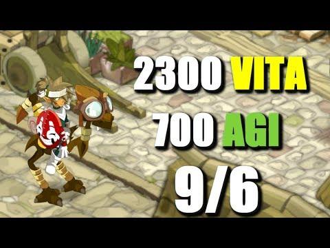 [DOFUS] CRA 60 2XXX VITA 700 AGI + KOLI 1VS1 AU TOP !