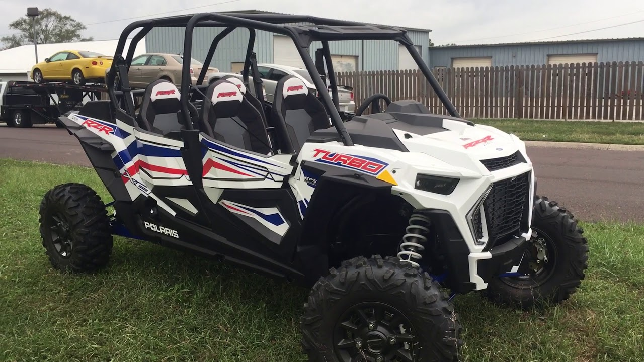 Polaris General 4 Seater >> 2019 Polaris RZR XP Turbo 4 seat LE - YouTube