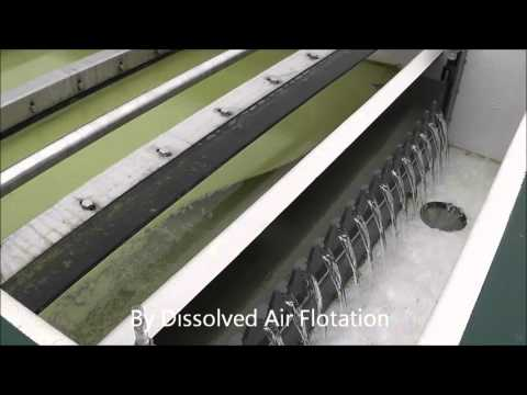 Dissolved Air Flotation (DAF) System - Removes Algae from Reservoir Water - Siltbuster Limited