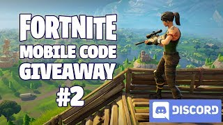 Fortnite Mobile - Beta Code Giveaway (Discord) #2
