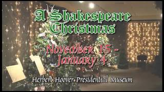Shakespeare Christmas Exhibit 2014