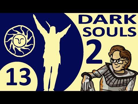 Let's Play Dark Souls 2 Co-op Part 13 - Smelter Demon