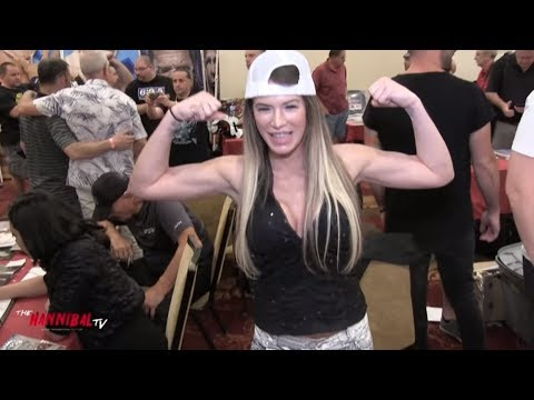 Ashley Massaro Catches up with Hannibal 2018!