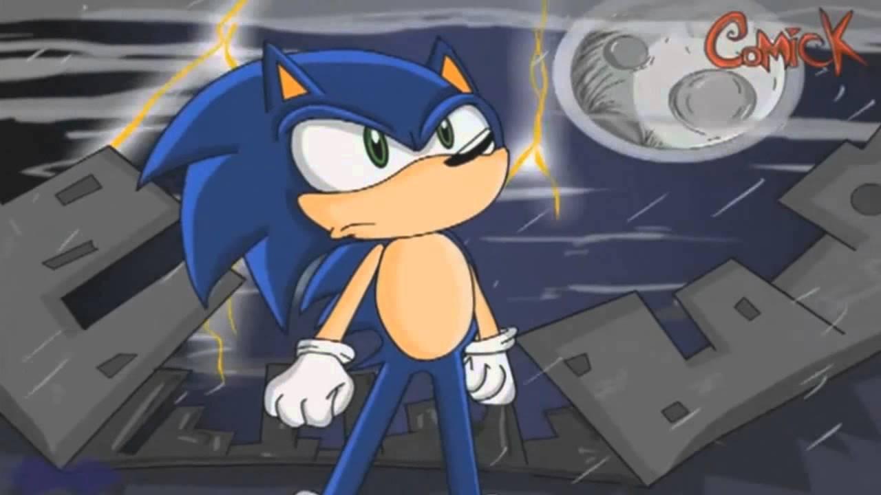 sonic vs metal sonic  fandub latino  animation by comick