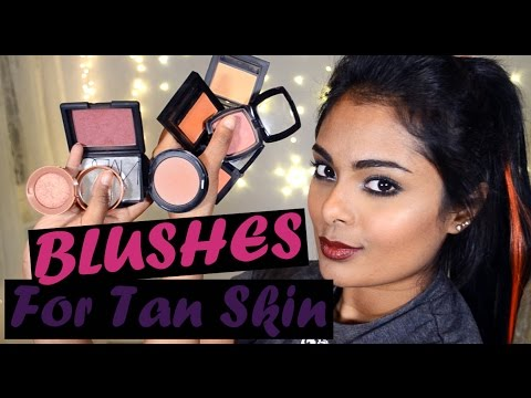 Top Blushes for Brown Tan Skin tone - Drugstore & High End ...