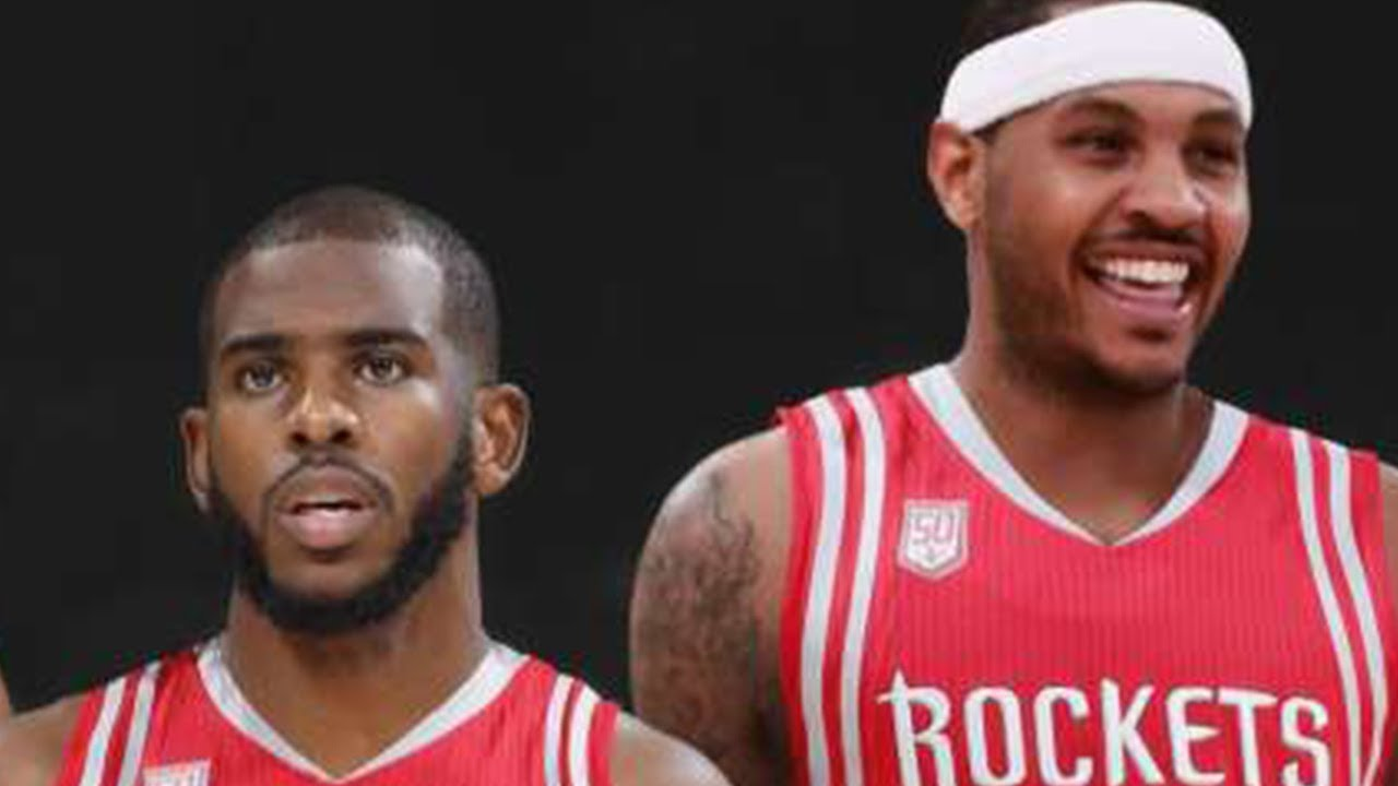 2ca8003549d7 Chris Paul PUSHING Rockets To Sign Melo! - YouTube
