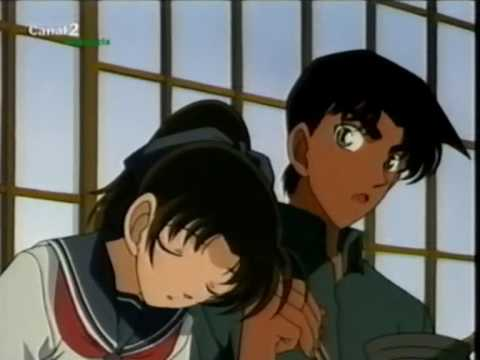 what episode does conan meet heiji