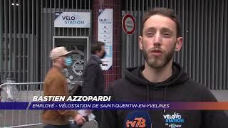 Yvelines | Des kits de sécurité distribués par la Vélostation de SQY