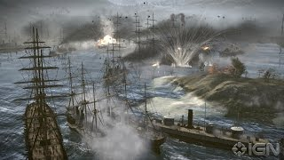 Total War Shogun 2 Битва броненосцев.