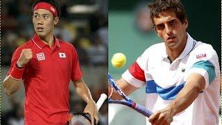 2016 ・8・4 Rio de Janeiro Olympics   Men's Singles Tennis   Kei Nishikori  VS   Ramos-Vinolas